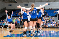 20131015 Millikin University vs Carthage College Volleyball