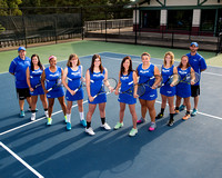 20150823 MU Womens Tennis Team