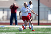 20140412 Warrensburg Latham High School vs Mt. Zion High School Girls Soccer