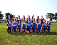 20160810 AOMS Softball Team Pictures