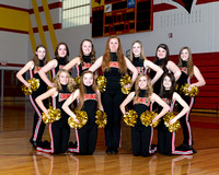 20131119 Warrensburg Latham High School Dance Team