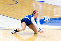 20131029 Millikin University vs North Central Volleyball