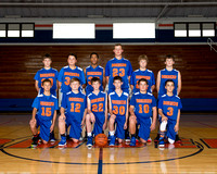 20161102 AOMS Boys Basketball Team