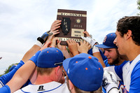 20140524 Argenta Oreana High School vs LeRoy Regional Baseball Finals