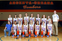2009 AOMS Girls Basketball