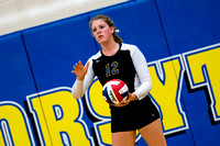 20140902 MFHS vs Heyworth Volleyball