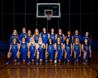 20151112 MFHS Girls Basketball Team
